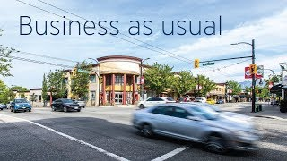 Business as usual on Commercial Drive | FortisBC