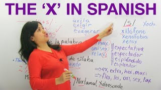 Learn Spanish: The X in Spanish