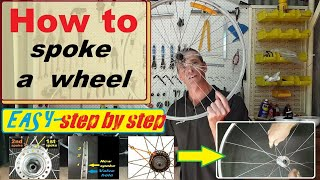 How to build a bike wheel - Easy!