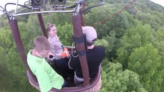 Hot Air Balloon Ride with Will & Lou 5/22/15