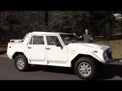 Forget The Lamborghini Urus The Original 1980s Lm002 Just Sold For