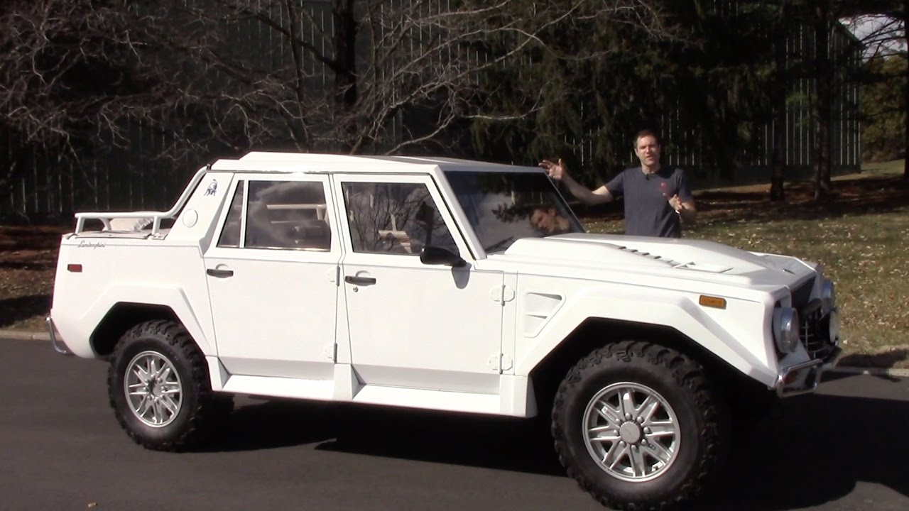 Here S Why The Lamborghini Lm002 Is Worth 400 000 Youtube