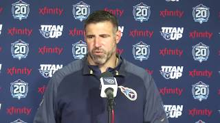 Press Conference: Titans Coach Mike Vrabel, 2018 Draft Picks