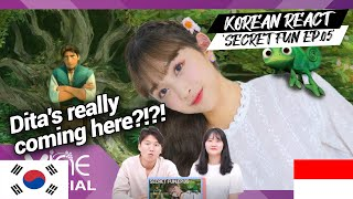 Korean Reaction SECRET FUN EP.05 | Indonesia