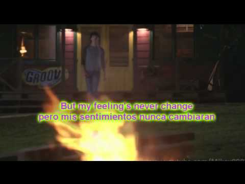 Joe Jonas & Demi Lovato - Wouldn't change a thing Lyrics English & Spanish - Camp Rock 2(HD)