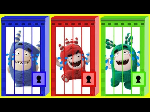 Learn Colors with Oddbods Cartoons Wrong color key Colours Learn