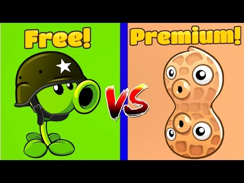 Plants vs Zombies 2 PEASHOOTER vs PEA NUT