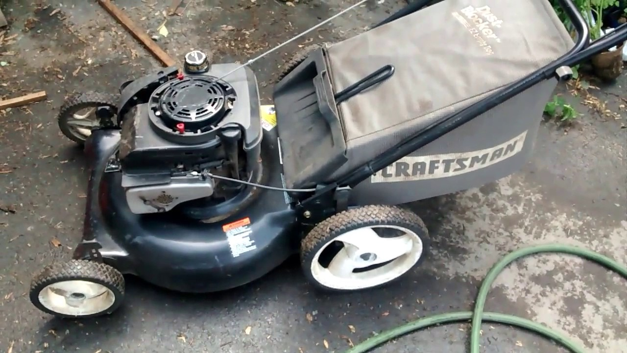 Sears Lawn Repair Mower Craftsman