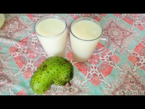 Soursop (Graviola): 2 ways to make Soursop juice at Home
