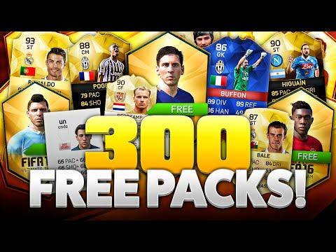 300 FREE PACKS!
