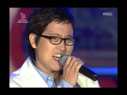 Kim Dong-ryul - Drunken Truth, 김동률 - 취중진담, MBC College Musicians Festival 20051015