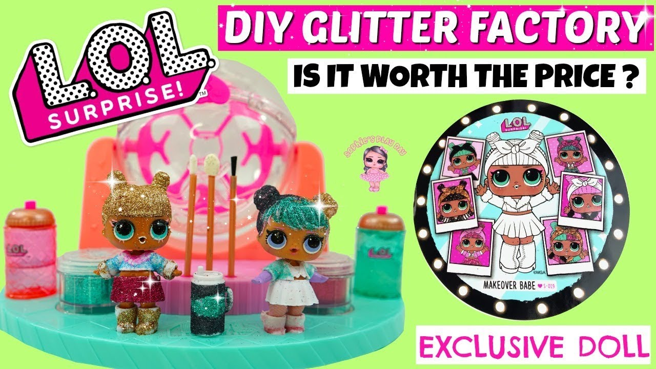 Lol Surprise Diy Glitter Factory Unboxing And Review Is It Worth The Price Fuzzy Pets Kids Toys