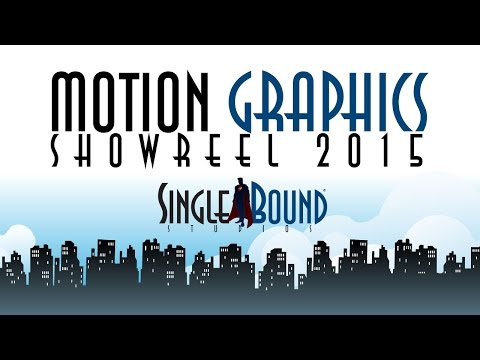 Shannon Browning - Single Bound Studios - Motion Graphics Showreel