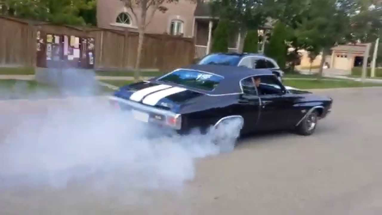 1970 Chevelle SS with 600+ hp BURNOUT