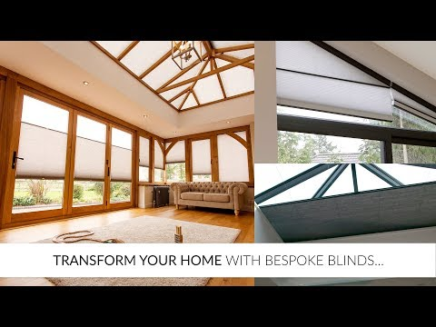 Transform Your Home with Bespoke Blinds...