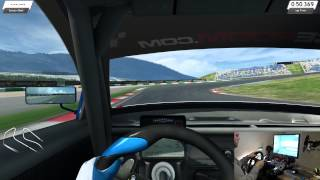RaceRoom Racing Experience + Logitech G27 Gameplay(PC) (First time playing the game)