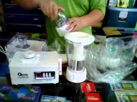 Oxone Slow Juicer Ox 865 : cara pnggunaan blender oxone - YouTube