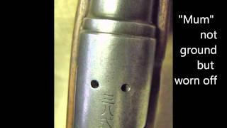 Arisaka Type 38 (Jap 6.5mm Rifle)