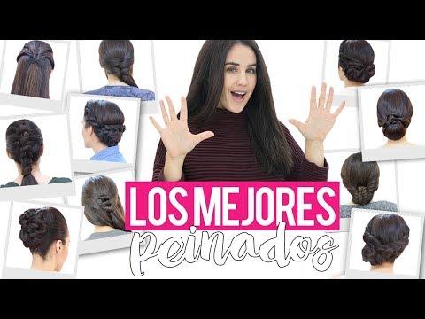 Los 10 mejores peinados y recogidos faciles, rapidos y bonitos para fiestas | Recopilación