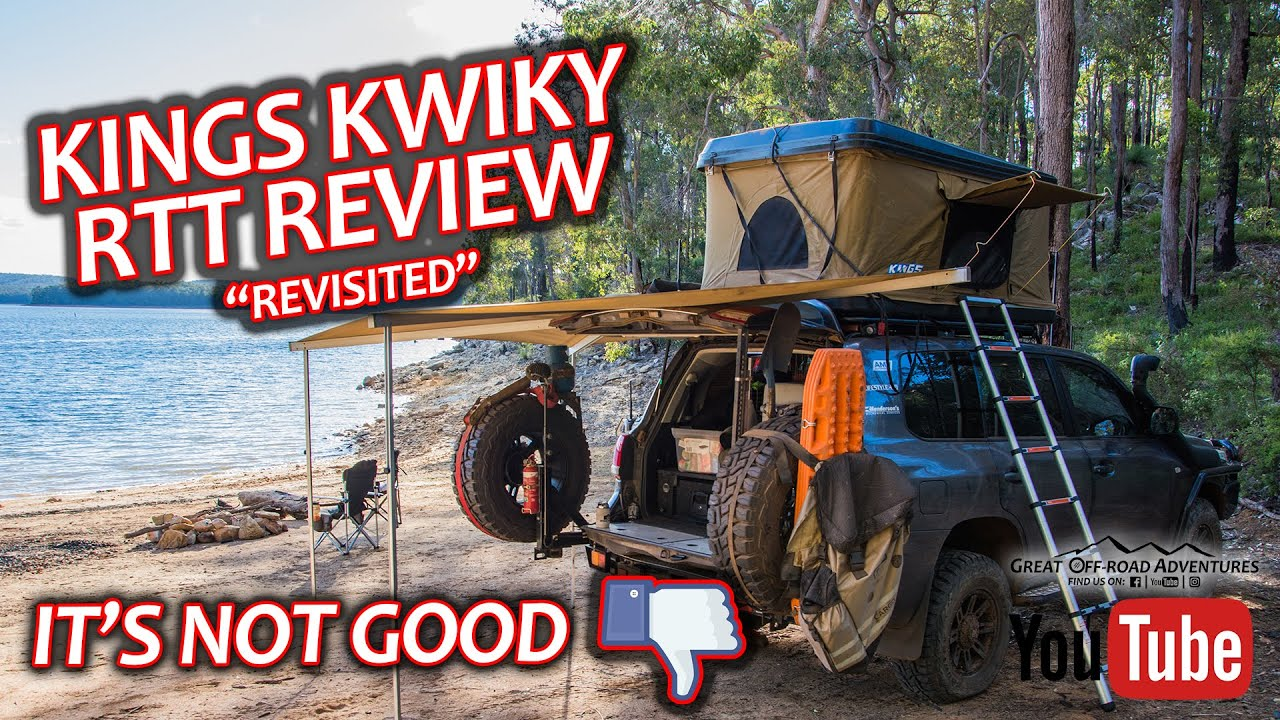 Adventure Kings Roof Top Tent Weight is it any good? kings kwiky roof top tent review - revisited