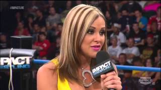 Impact Wrestling 2013 05 30 Gail Kim & Kenny King vs  Chris Sabin & Taryn Terrell 720p)
