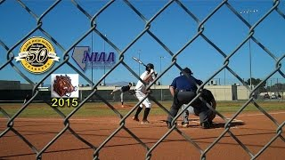 Varsity High School Baseball Desert Pines at Clark Las Vegas NV 031415