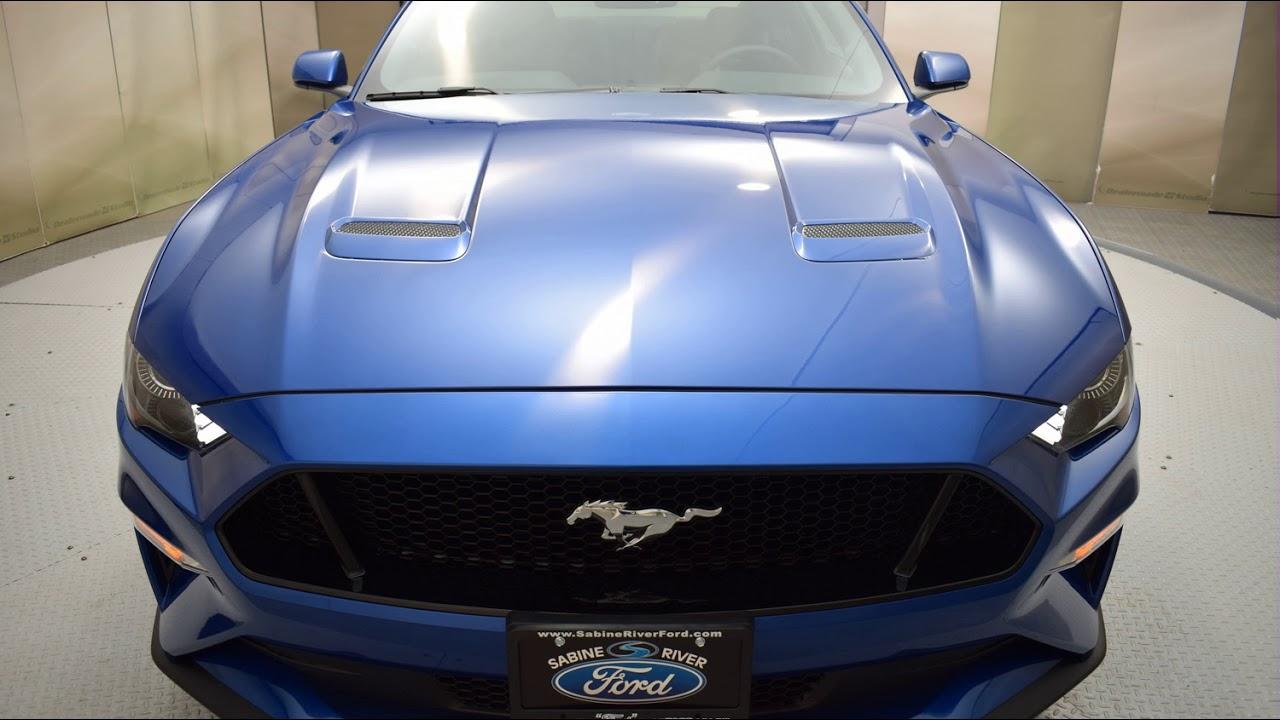 2018 lightning blue metallic ford mustang 2d coupe 6818. Black Bedroom Furniture Sets. Home Design Ideas