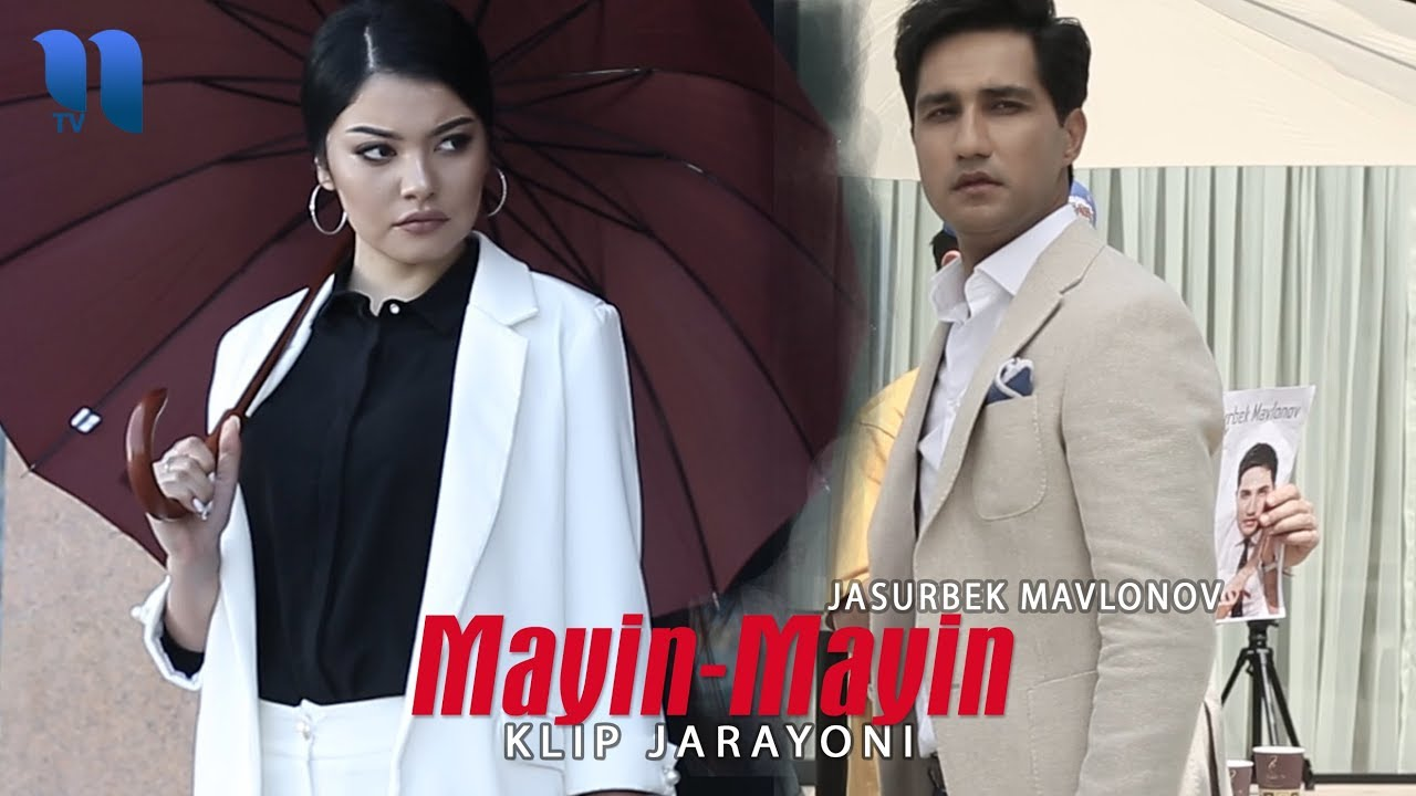 Jasurbek Mavlonov - Mayin-mayin (klip jarayoni) | Жасурбек Мавлонов - Майин-майин (клип жараёни)
