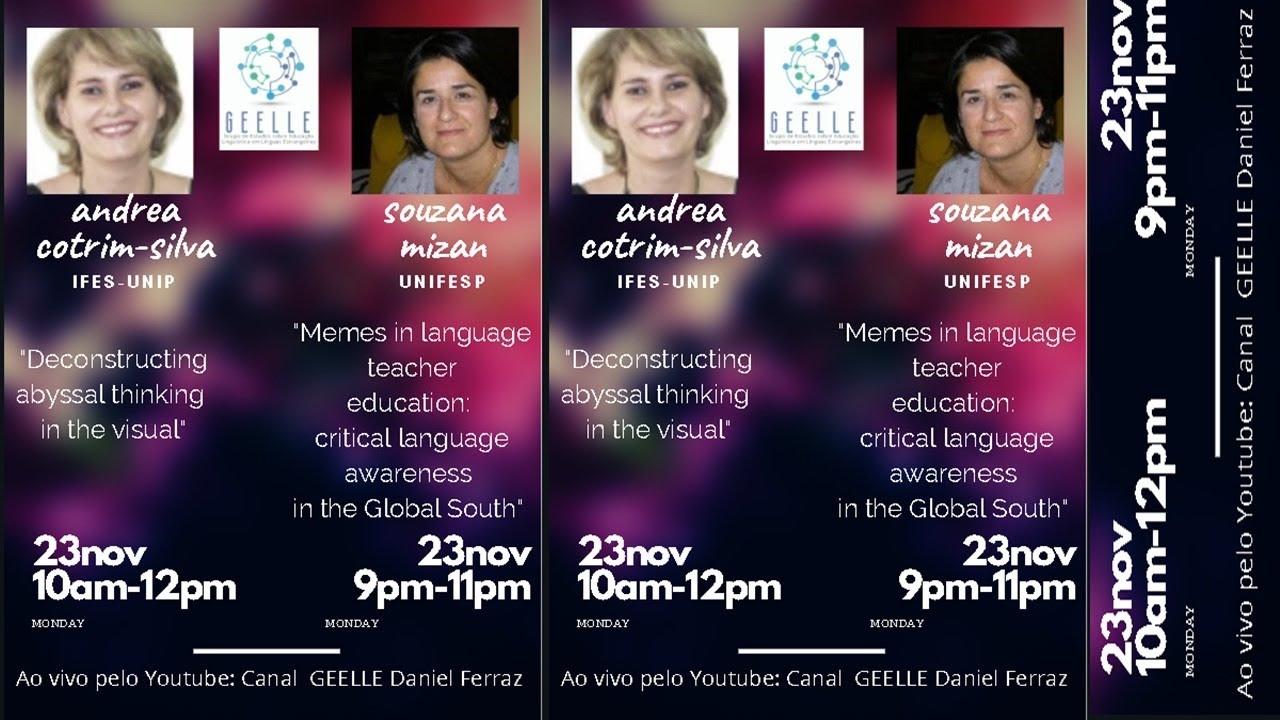 Download GEELLE - Grupo de Estudos sobre Educação Linguística em Línguas Estrangeiras - MIZAN talk