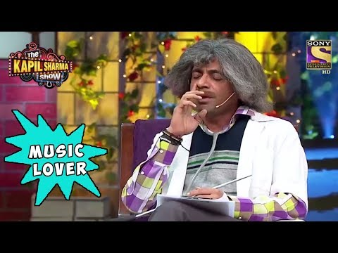 Gulati Is A Music Lover - The Kapil Sharma Show