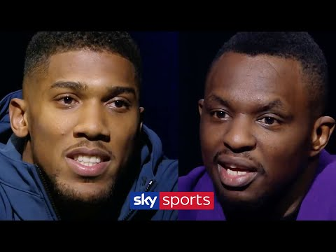 REVISITED! Anthony Joshua & Dillian Whyte's HEATED Encounter | The Gloves Are Off