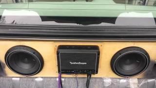 Rockford Fosgate P2D4-8 inch subs w/ R400-4D