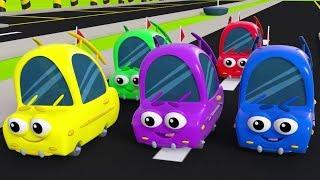 5 Küçük Araba - En Güzel Çocuk Şarkıları