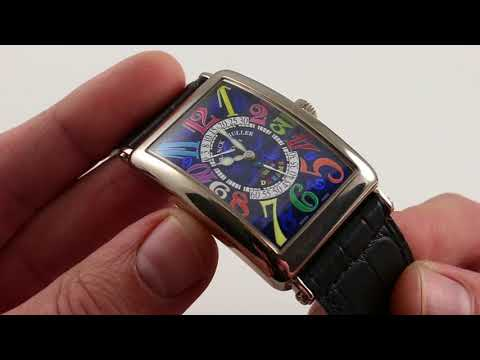 Pre-Owned Franck Muller Color Dreams Limited Edition 1100 DS R Luxury Watch Review