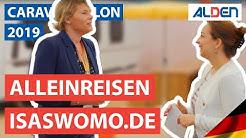 Caravan Salon Düsseldorf 2019: Isabell Speckmann von isaswomo.de über das Alleinreisen