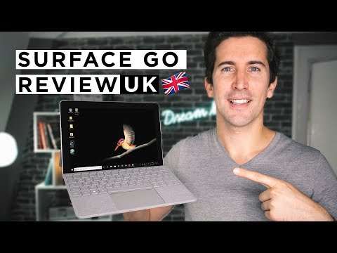 Microsoft Surface Go Review: Full UK Review in 4K