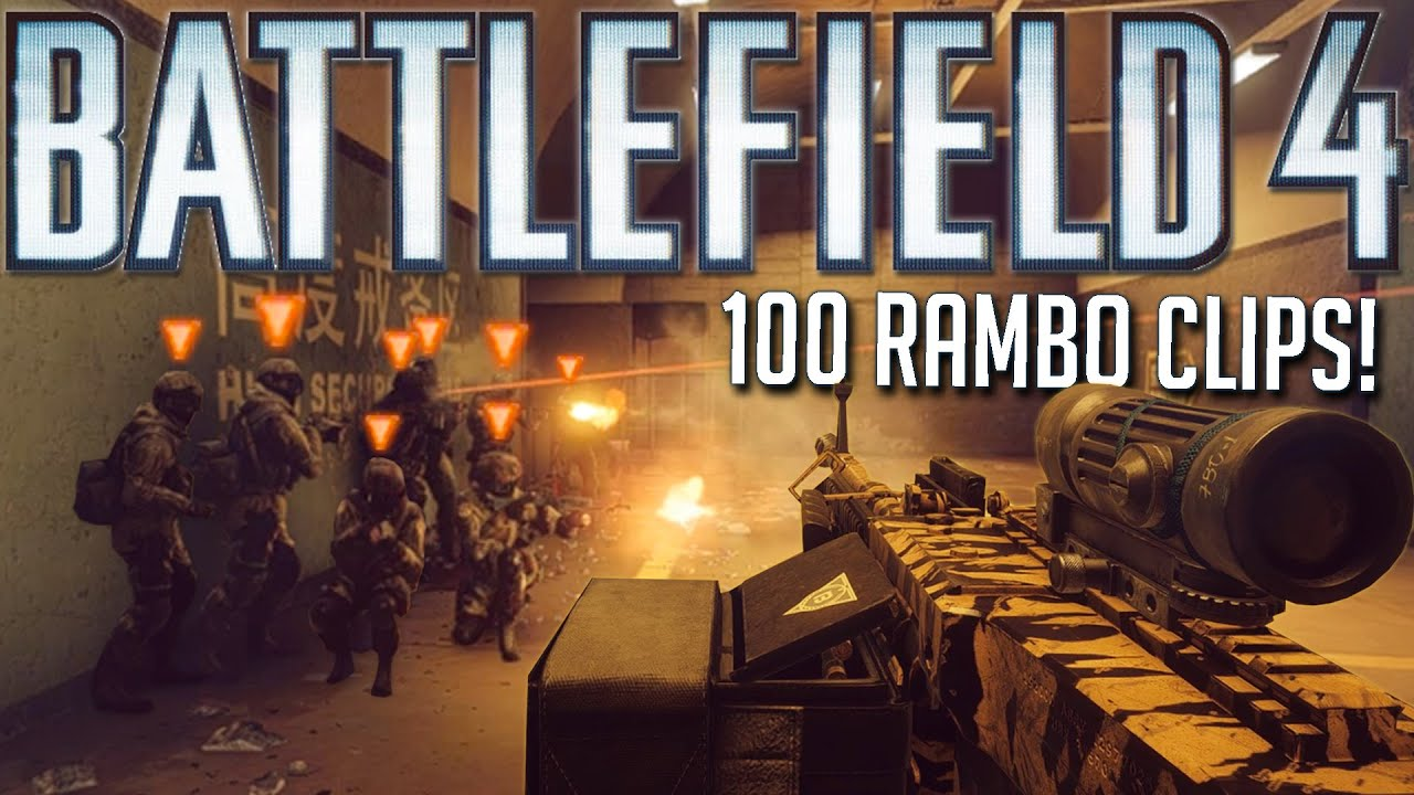 TOP 100 BATTLEFIELD 4 RAMBO CLIPS OF ALL TIME! (Compilation)