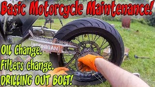 Basic Motorcycle Maintenance!
