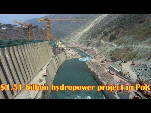 Islamabad to set up $1.51 billion hydropower project in PoK