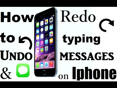 How To Undo And Redo Typing In Messages On Iphone