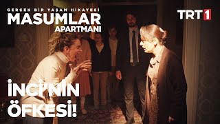 Safiye, İnci'ye Tokat Atıyor! | Masumlar Apartmanı 25. Bölüm (Final Sahnesi)