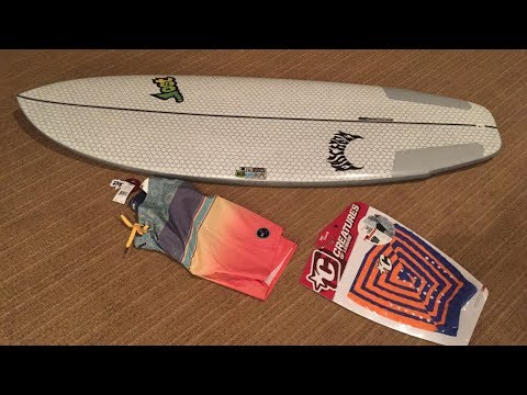 Unboxing My Lost Libtech Puddle Jumper Surfboard