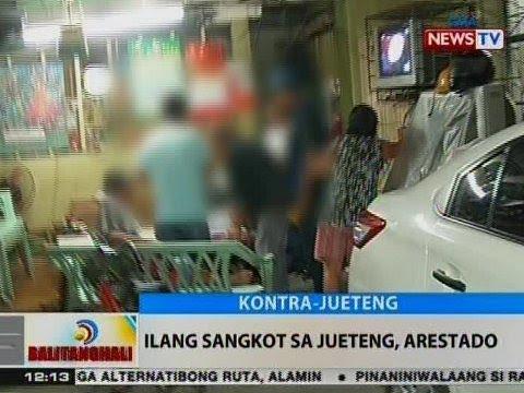 BT: Ilang sangkot sa jueteng, arestado sa Pateros-Taguig