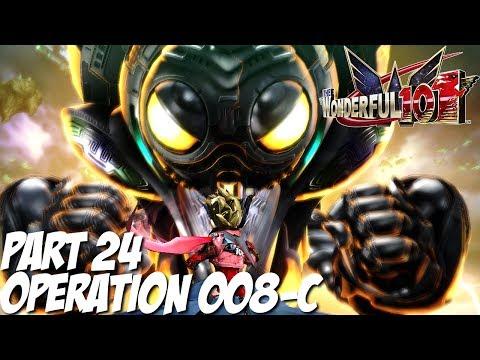 The Wonderful 101 Gameplay Walkthrough Part 24 - Operation 008-C - Nintendo Wii U