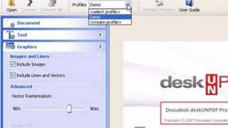 Advanced Features of deskUNPDF Professional: PDF to Word, PDF to Excel, & PDF to HTML