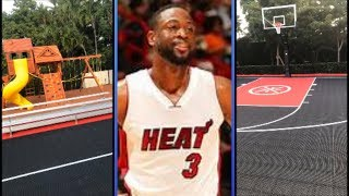 Dwyane Wade Has To Give Half His Court Up