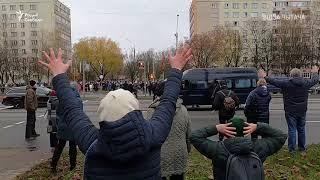 Акцию памяти Романа Бондаренко в Минске жестоко разогнали