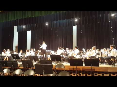 2016 Fairview South Concert Band - Dimensions - Sachio: Composer/Conductor