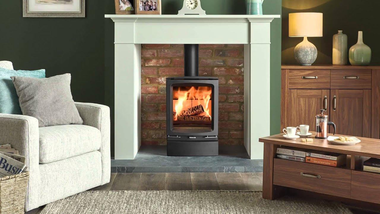 stovax u0027s vogue midi a contemporary wood burner youtube