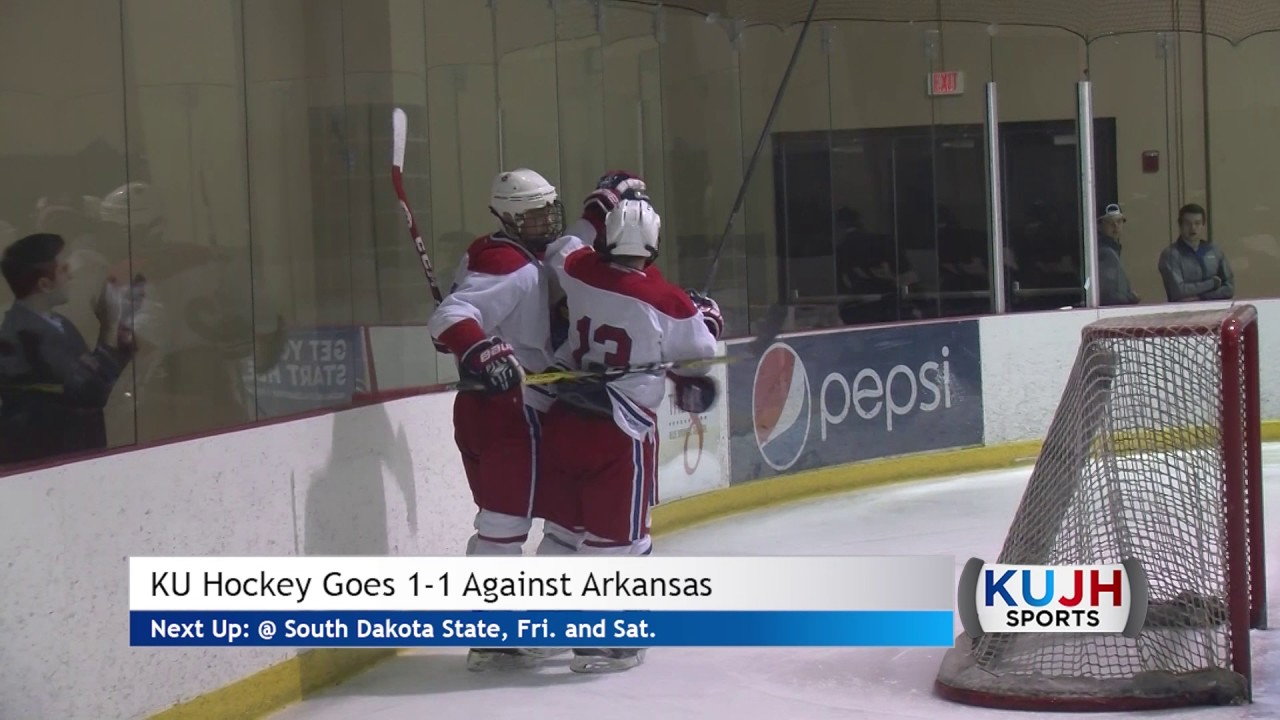 KU Hockey Weekend Series Against Arkansas - YouTube 635aa3e4524